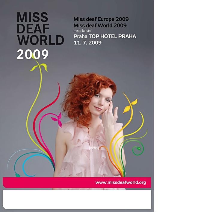 Reklamní Fotografie Miss Deaf World 08