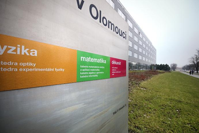 Reklamní fotografie Universita Palackého Olomouc Informatika 10