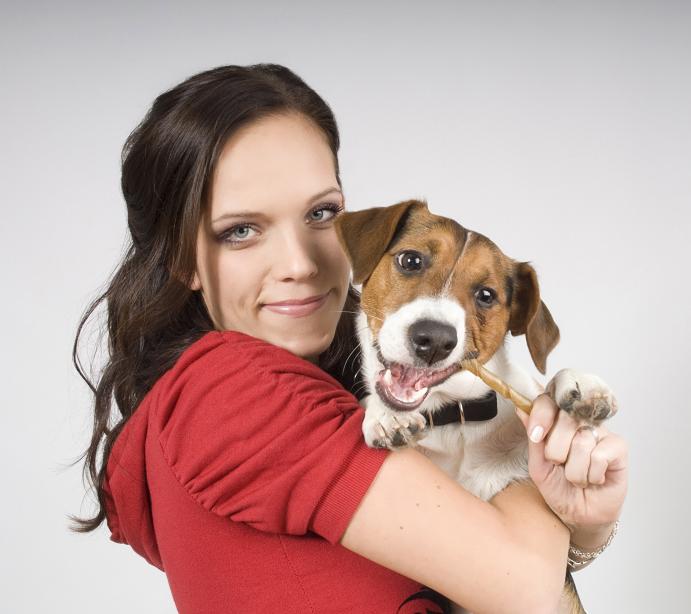 Dvojportrét se psem