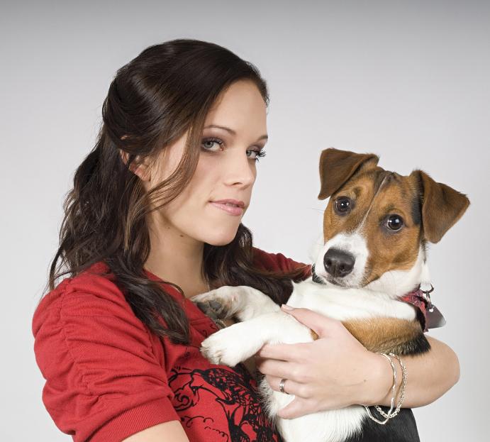 Portrétní fotografie se psem
